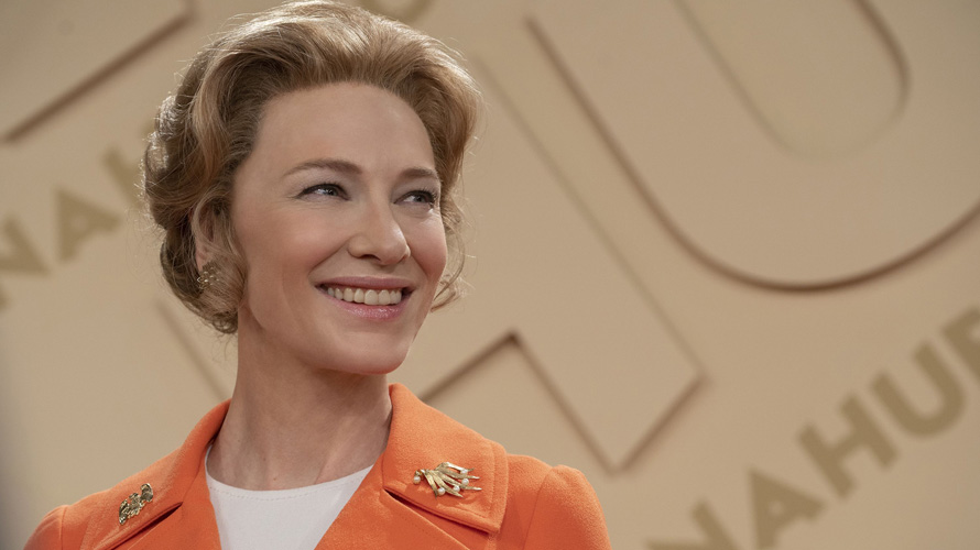 A still of Cate Blanchett on Mrs. America