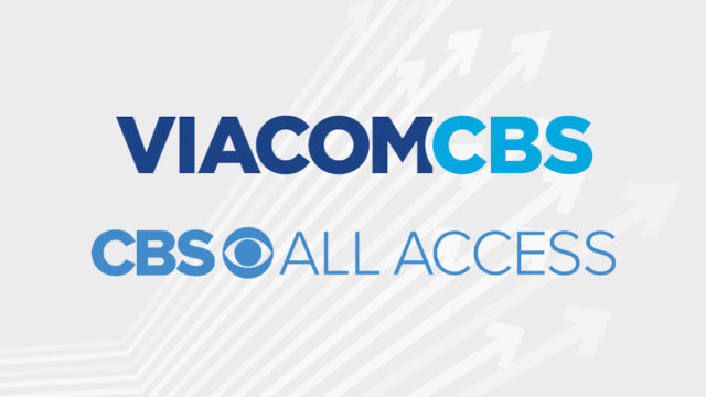 viacomcbs all access logos