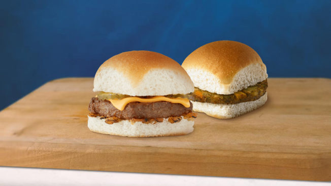 White Castle will offer plant-based cheese option for its sliders.