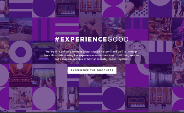 the experience good homepage