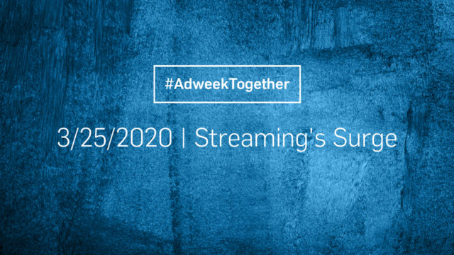 Adweek Together: Streaming Services Hit Their Stride