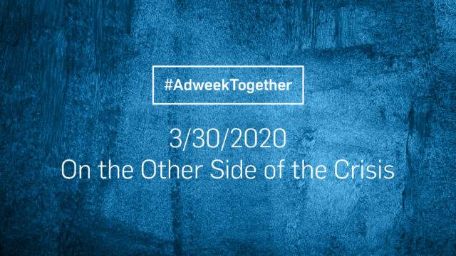 Adweek Together: This Nation Is Now Flattening the Curve
