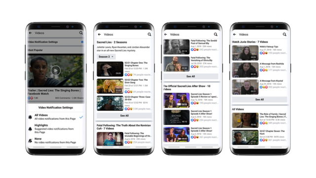 Facebook: Here's How to Share a Page's Video Playlist to News Feed