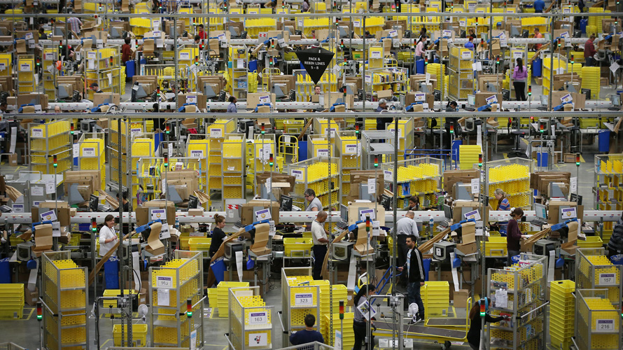 Amazon Seeks 100000 More Employees to Keep Up With Surge in Orders