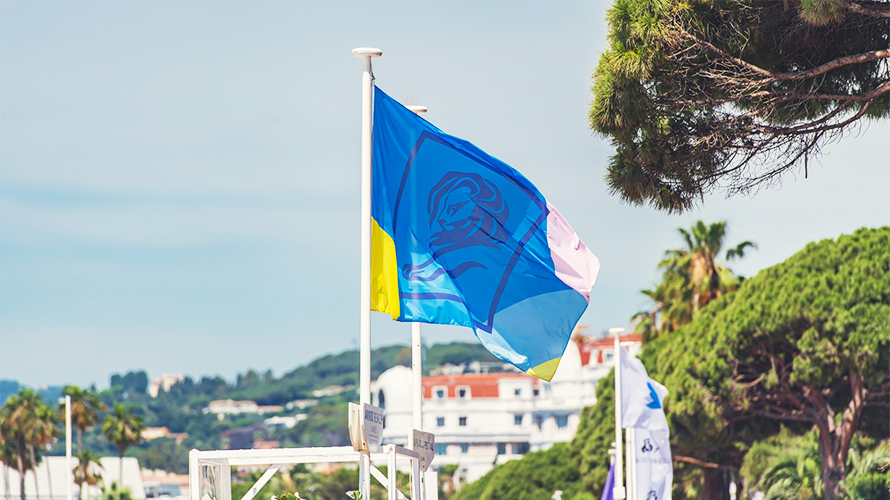 cannes lions flag