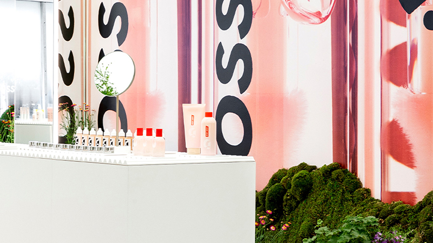 a glossier store