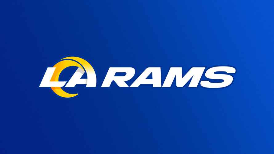 the new la rams logo