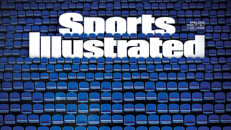 Sports Illustrated cover of empty stadium amid coronavirus