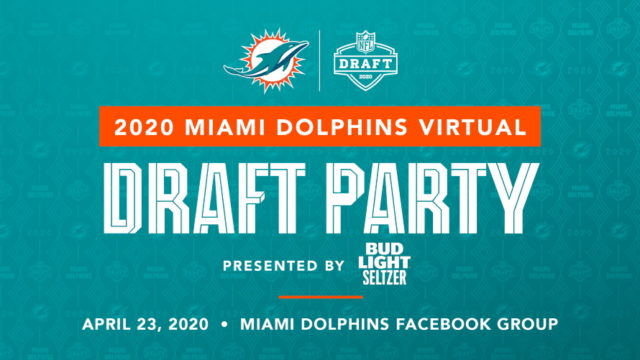 Miami Dolphins Set Virtual 2020 NFL Draft Experience on Facebook