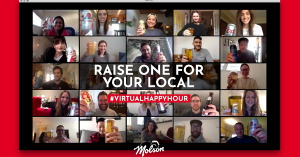 Molson Canadian Is Making Virtual Happy Hours Pay Off in Canada