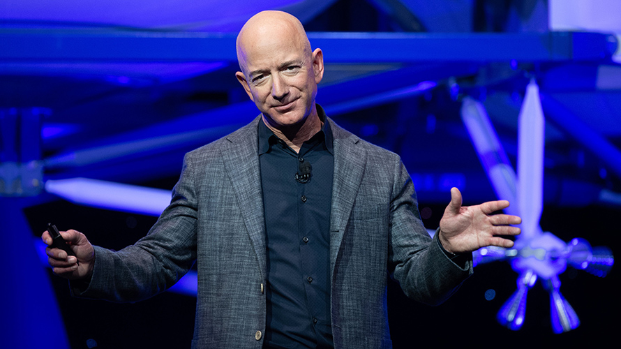 Jeff Bezos calls for regular COVID-19 testing across industries - including Amazon