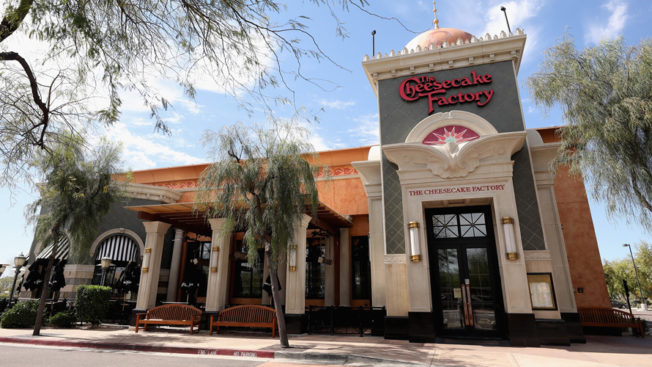 A photo of the Cheesecake Factory