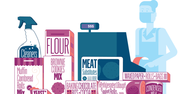Infographic: Shopping for Flour? Sure, So Is the Rest of America