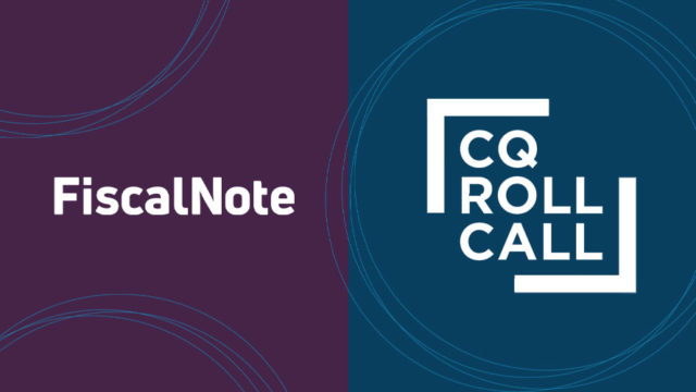 FiscalNote and CQ Roll Call logos