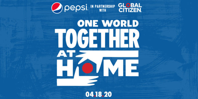 one world together at home logo