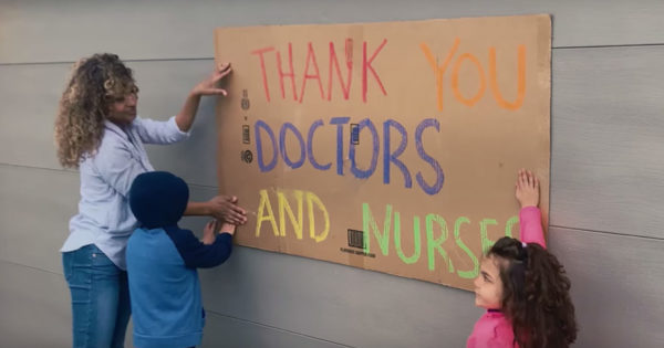 Lowe's Encourages DIY Messages to Thank Frontline Workers
