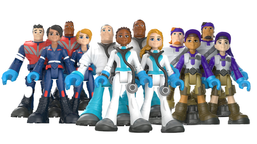 #ThankYouHeroes dolls from Mattel