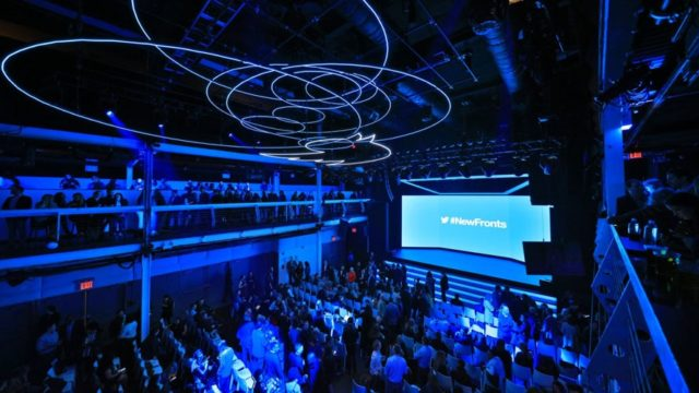 newfronts presentation hall