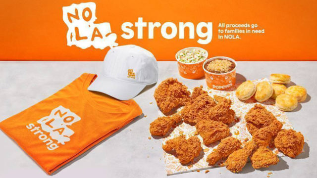 popeyes nola strong meal deal