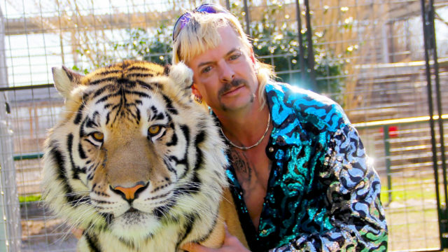 joe exotic and a friend
