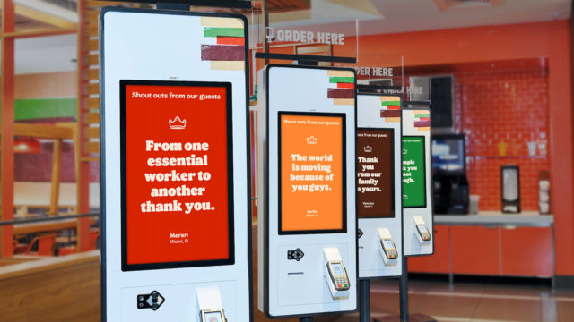 burger king order kiosks