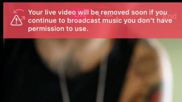 Guidelines Updated on Usage of Music in Facebook Live, Instagram Live Videos