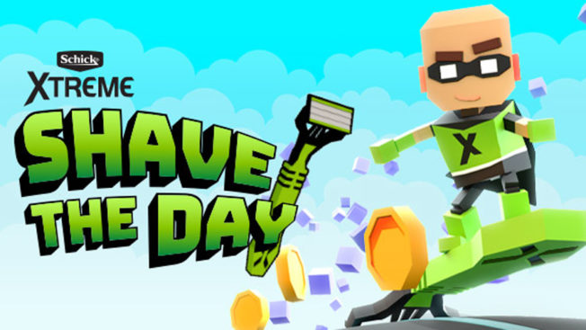 shave the day video game promo poster