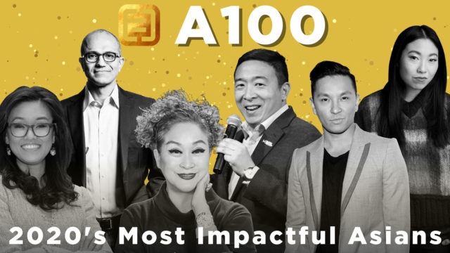 a collage of A100 honorees