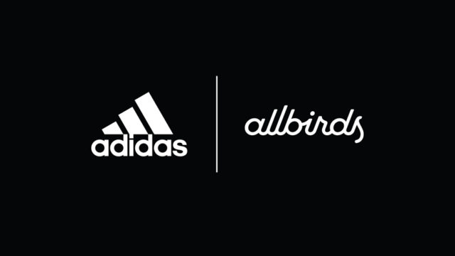 adidas and allbirds logos
