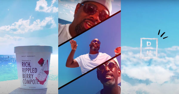 Boyz II Men Serenades Daily Harvest's Plant-Based Ice Cream