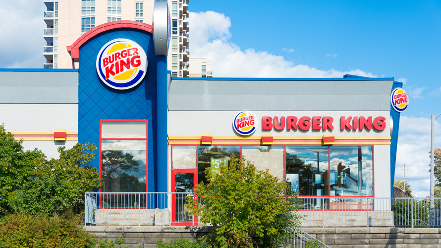 Image of a Burger King location