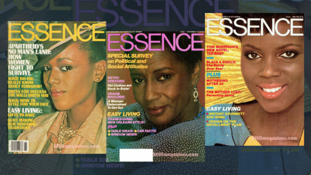 essence magazine covers
