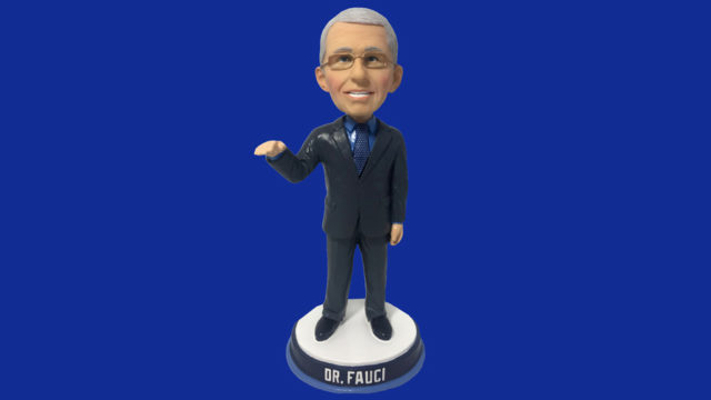 People have ordered tens of thousands of Dr. Fauci bobblehead dolls during the Covid-19 pandemic.