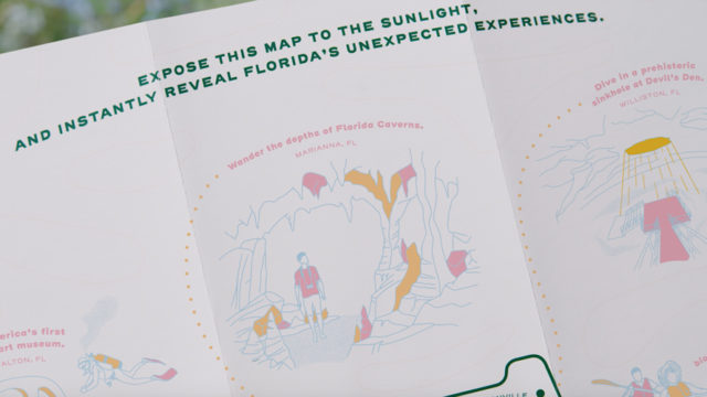 This UV-Sensitive Ad Reveals Florida's Natural Adventures When Exposed to the Sun