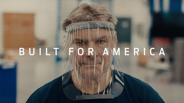 Ford's New Campaign Focuses on Its Role in Fighting the Pandemic