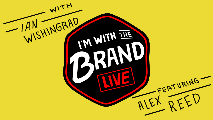 I'm With the Brand Live logo