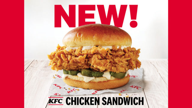 the new kfc chicken sandwich