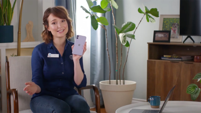 AT&T's Beloved Spokesperson 'Lily' Is Back, and Working From Home