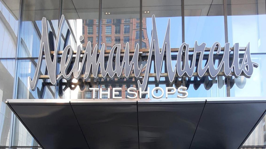The Neiman Marcus sign