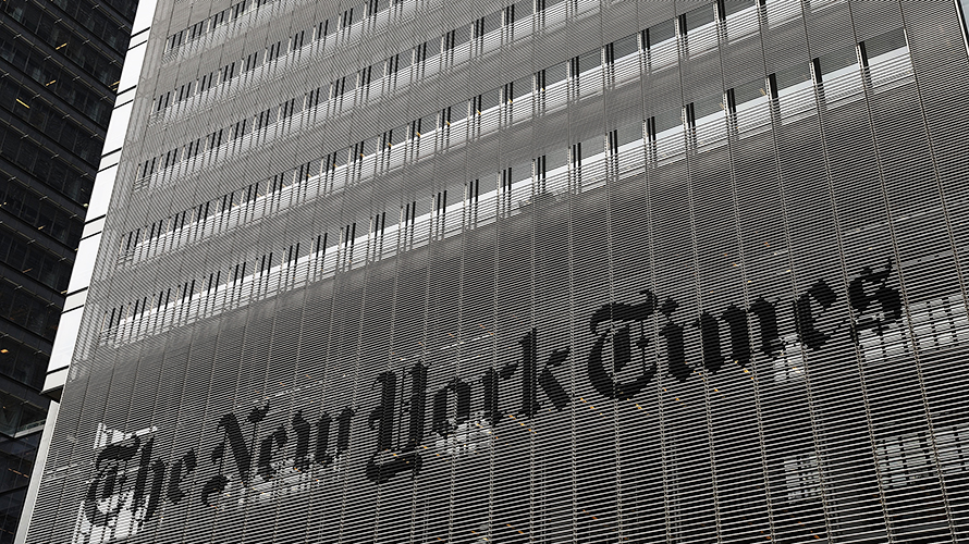 the nyt building