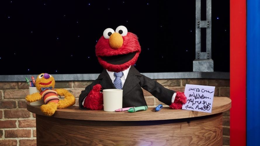 Elmo hosts the upcoming HBO Max original, The Not Too Late Show.