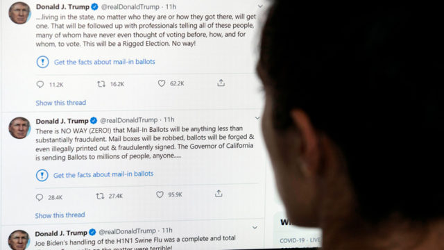 Why Trump Can't Claim Twitter Is Violating His Free Speech