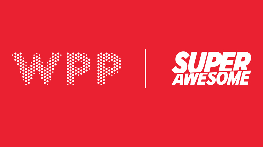 wpp and superawesome logos