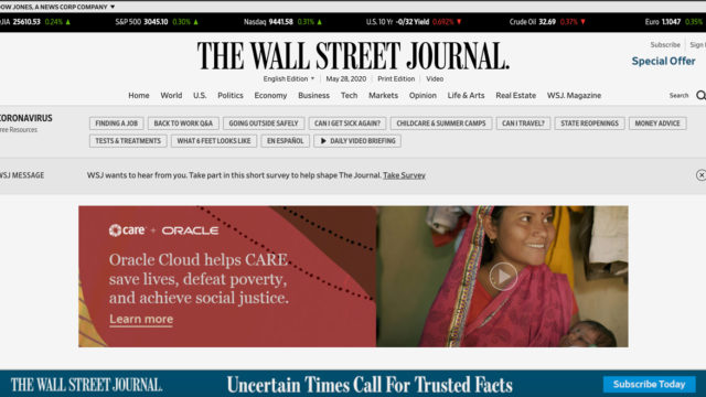 How WSJ and Barron's Group Grew Their Digital Ad Business Despite the Pandemic