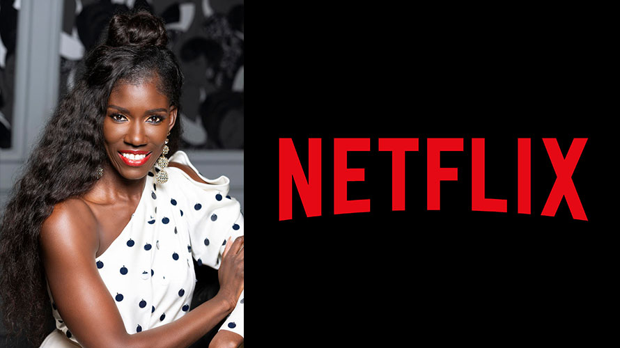 Photo of Bozoma Saint John and the Netflix logo