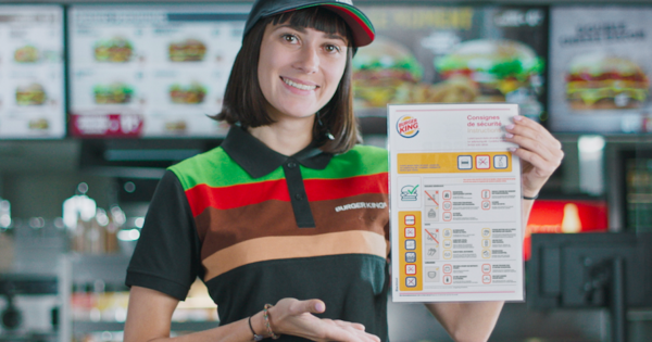 Burger King Announces Reopening With Airline Safety Parody