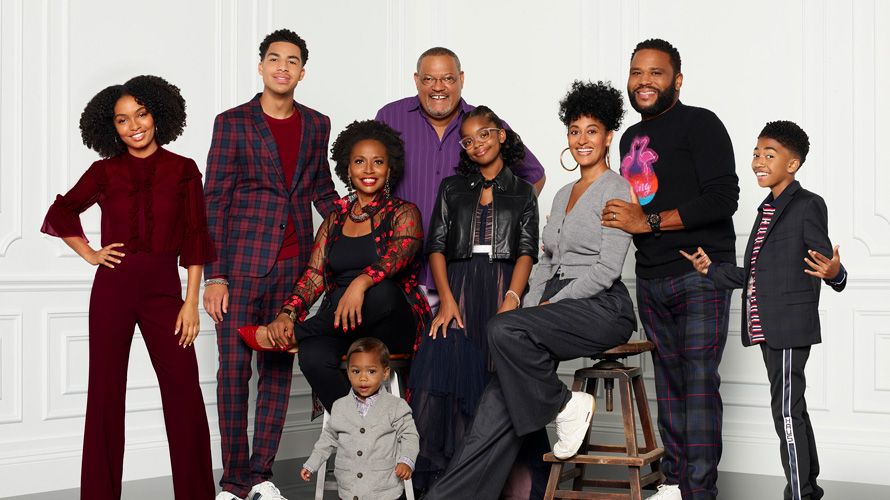 the cast of blackish standing