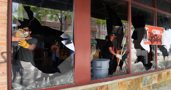Americans Show Support for Small Businesses Hurt by Looting