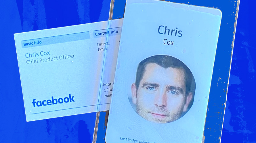a facebook profile on a phone that says chris