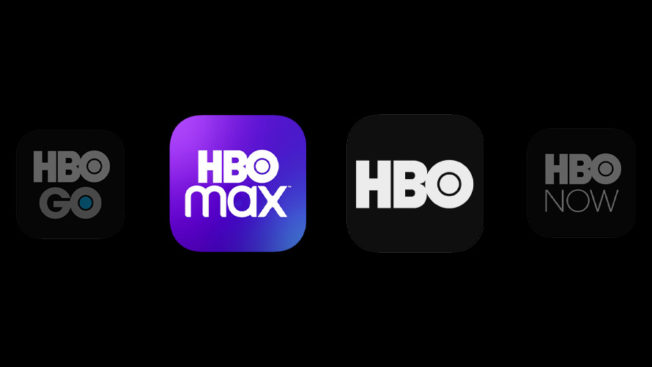 HBO Max and HBO logos